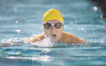 what are the advantages of swimming over water fitness