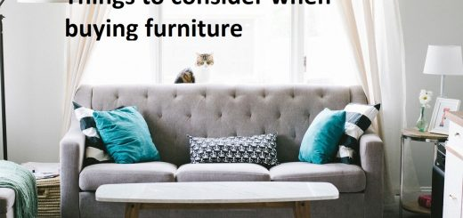 things to consider when buying furniture